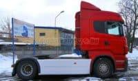 Scania tanktakaró oldalspoiler és Scania steamlime.